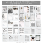 workbook template pages