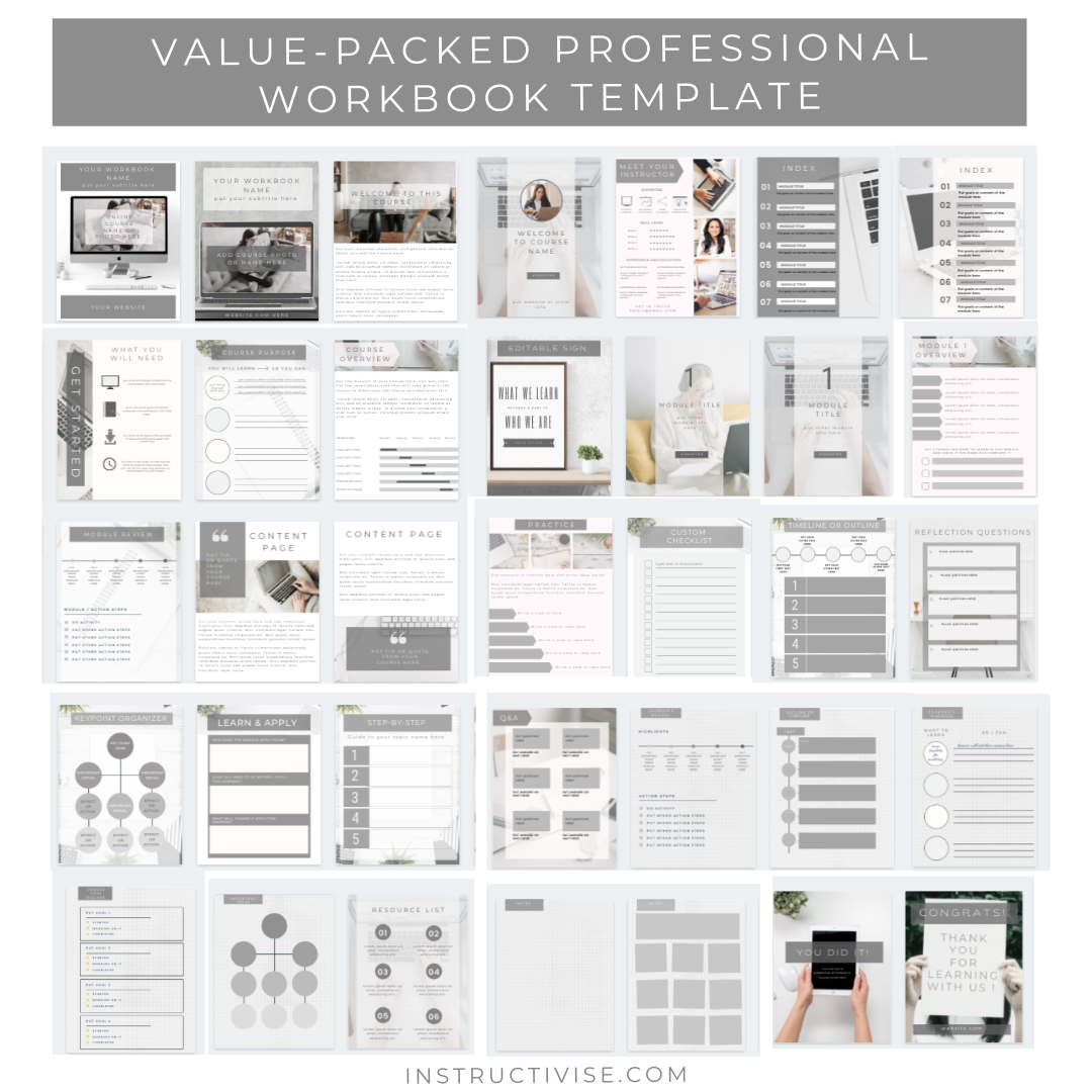 workbook templates