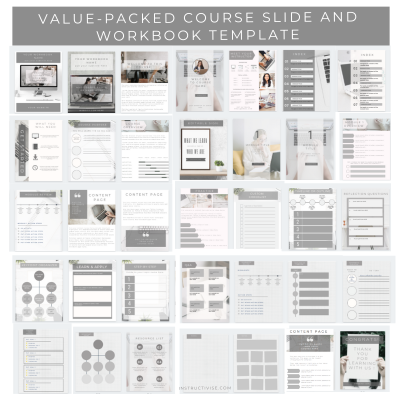 kartra course template powerpoint